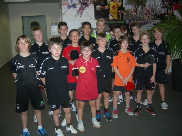 Tischtennis-Stadtmeisterschaften 2012: Erste Runde ein voller Erfolg!