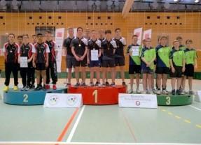 Tischtennis: Lessing-Jungen beenden achtjährige Hessen-Ära und werden Bundessieger
