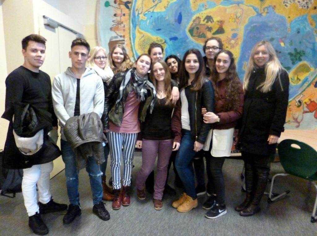 Foto vom Besuch der Montessori-Schule