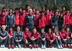 Talente am Lessing: Samed Onur im Trainingslager mit der türkischen Nationalmannschaft