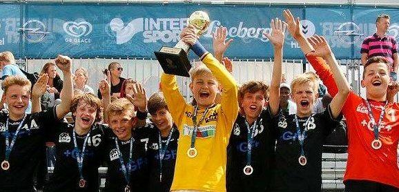 Drei Jungs vom Lessing siegreich beim Partille Cup in Schweden