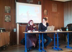 """Eine bewegende Veranstaltung am Lessing: Philipp Hedemann liest aus """"Die Flüchtlingsrevolution"""""""