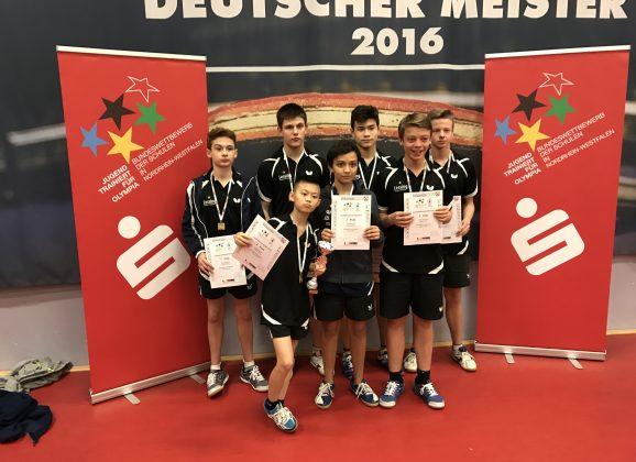 Lessing ist Landessieger im Tischtennis und fährt nach Berlin