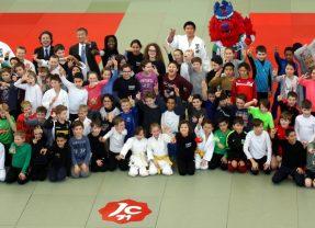 Fünfer im Judo Workshop mit Weltmeistern