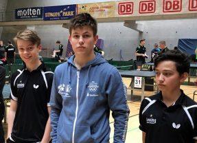 Tischtennis: Team des Lessings wird Bundessieger und löst damit das Ticket zur WM