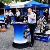 Lessing Schüler testen Polizeiarbeit