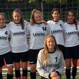 Lessing-Fußballerinnen werden erneut Fußballstadtmeister der WK I