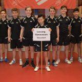 Lessing wird erneut Landessieger NRW im Tischtennis!