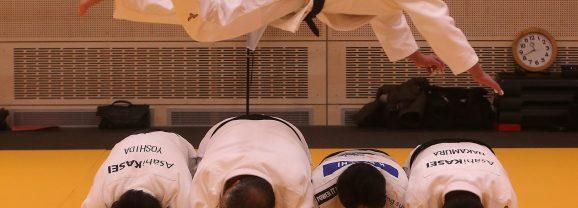 Judo: Olympiasieger als Lehrer im Work-Shop