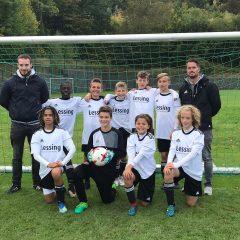 Lessing Fußballer sind fünftbeste Schulfußballmannschaft Deutschlands