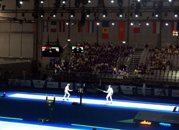 En garde! Besuch der Fecht-Europameisterschaft