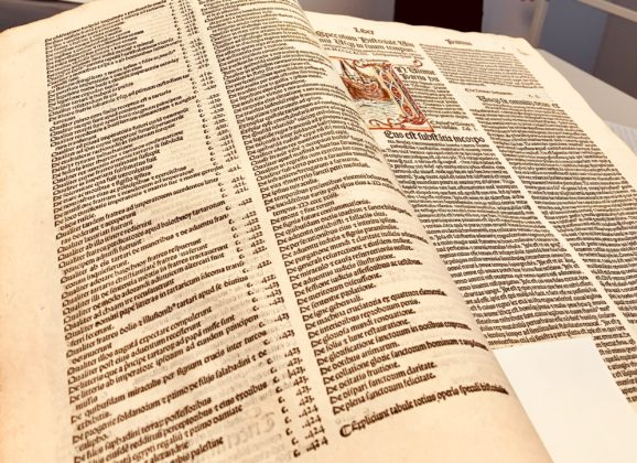 Lateinkurs-Exkursion zur Papyrussammlung nach Köln