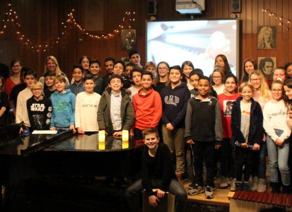 Ein musikalischer Ohrenschmaus: das Weihnachtskonzert am Lessing 2019