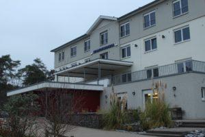 Die Jugendherberge in Haltern am See konnte dank finanzieller Unterstützung des Fördervereins für zwei Tage bezogen werden.