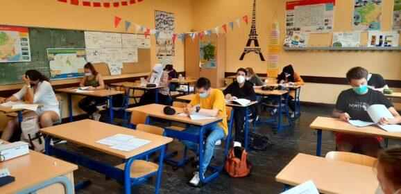 Erfolgreiche DELF-Prüfungen 2021 am Lessing